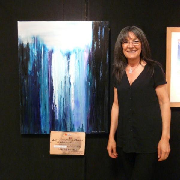 4eme prix du Grand Prix de peinture de Sainte-Maxime 2015