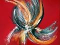 Turning Away 60 x 60 cm (vendu) (resized)
