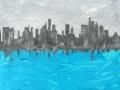 Vue très personnelle de New York 55 x 45 cm (resized)